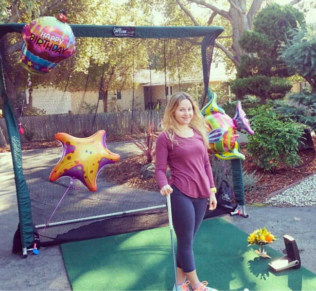 The Net Return Golf Net - Happy Birthday