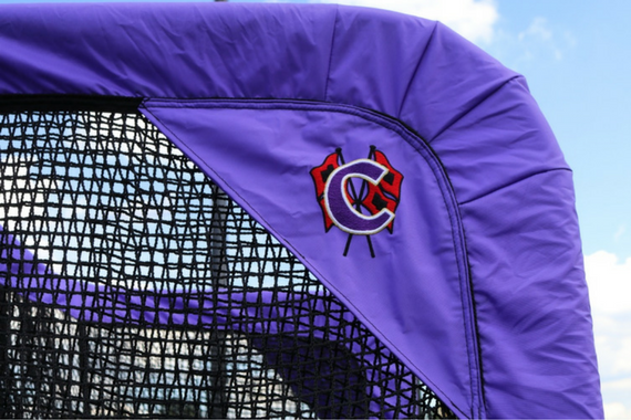 Cartersville Custom Football Kicking Net Upper Side View
