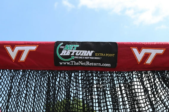 "Virginia Tech ""Hokies"" Football Custom Kicking Net"