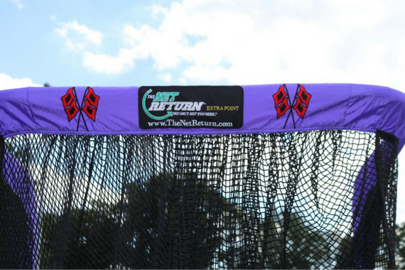 Cartersville Custom Football Kicking Net Top View