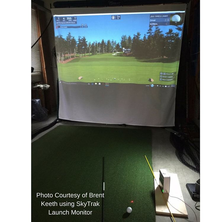 Pro Series Simulator Golf Screen