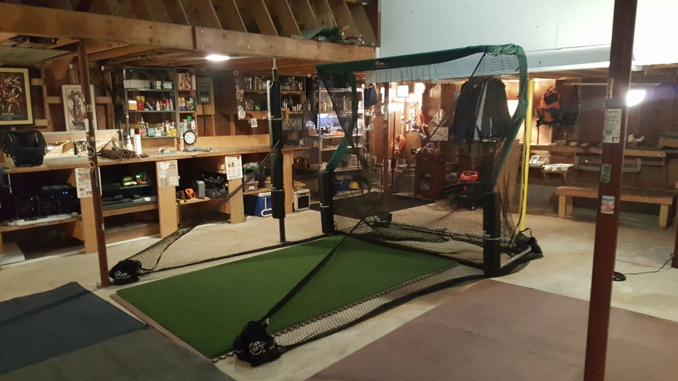 Aubrey Garage Golf Net 4
