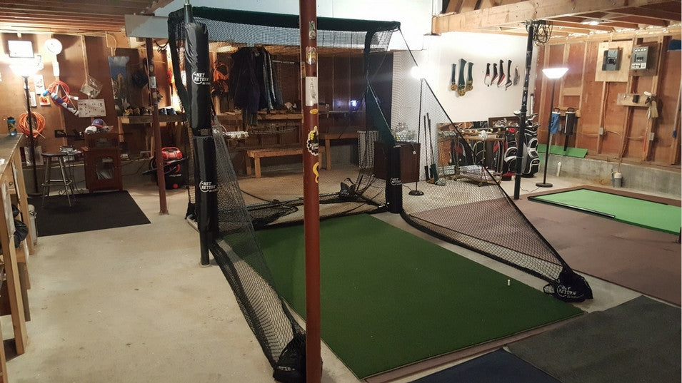 Aubrey Garage Golf Net 3