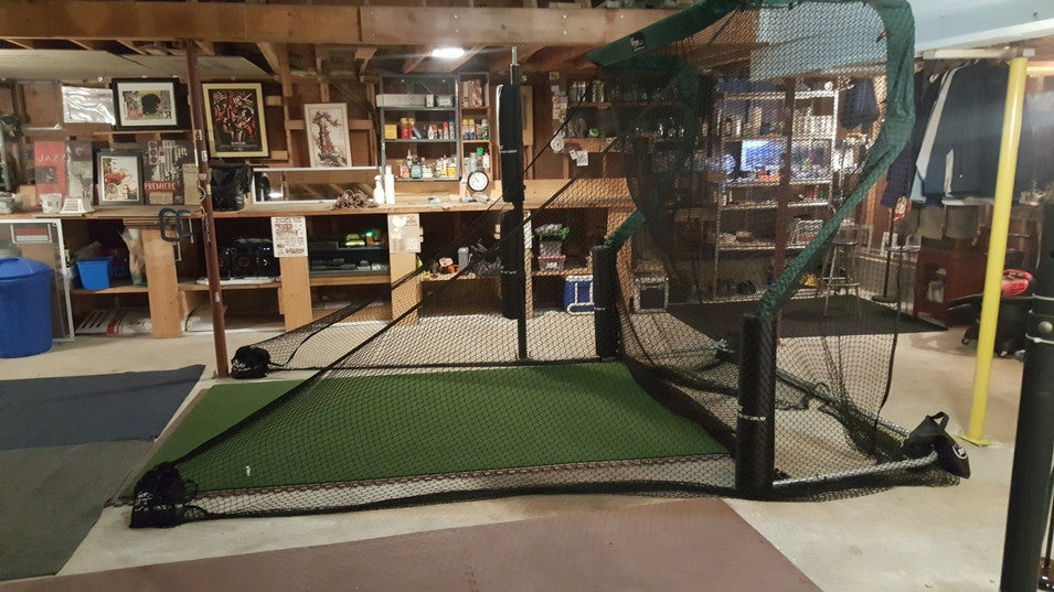 Aubrey Garage Golf Net 2