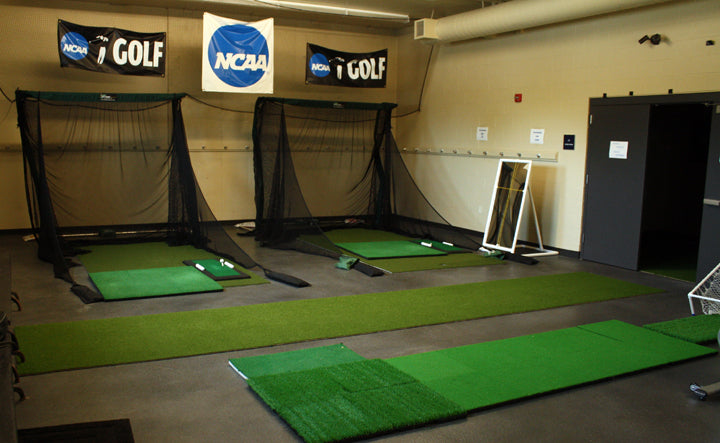 Augustana College Indoor Golf Nets