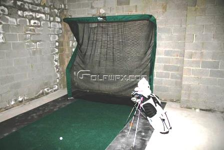 Dewey Basement Golf Net Photo