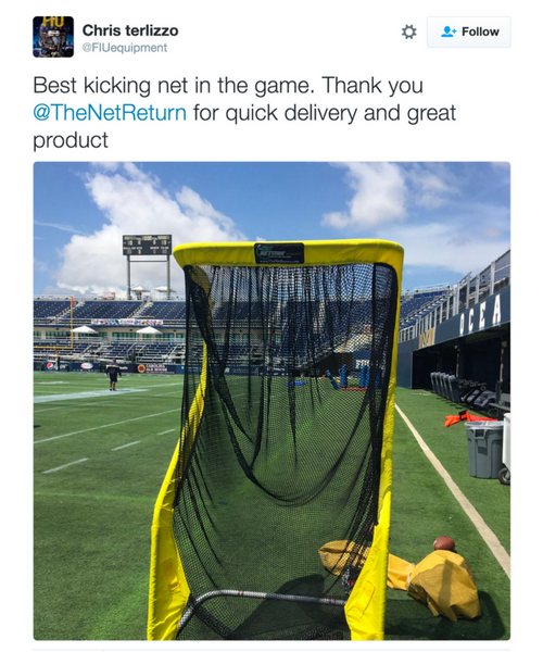 Florida International University - Football Kicking Net
