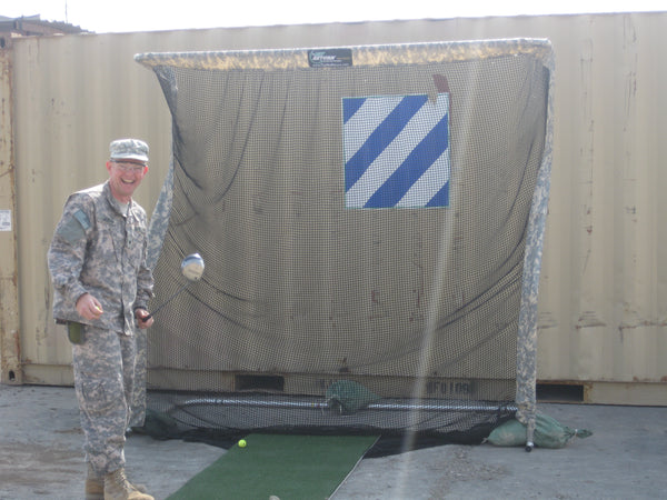 U.S. Military Iraq - Golf Net