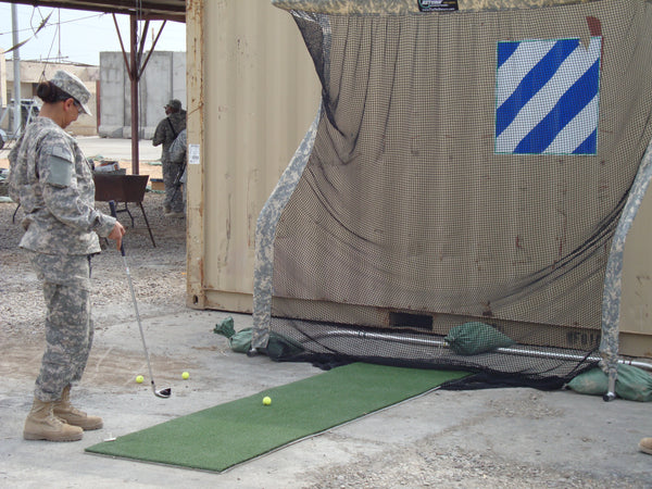 U.S. Military - Golf Net Iraq