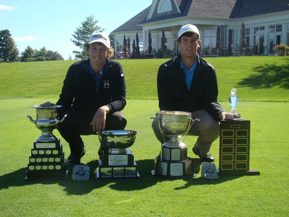 Jake and Sam McNulty - Golf Major Champs 2013