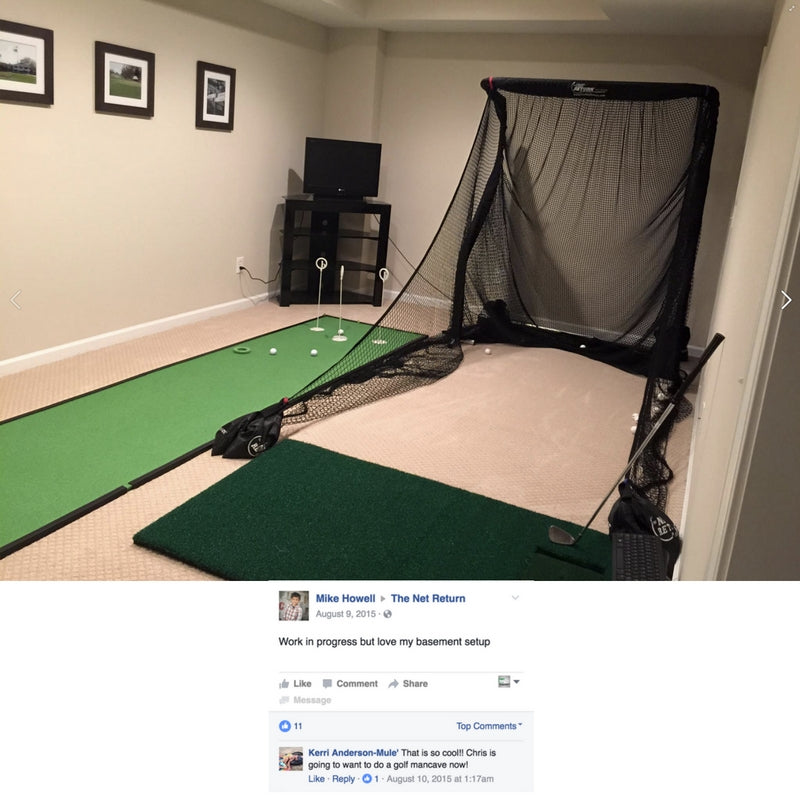 Mike Howell - Pro Series Mini Setup in Basement
