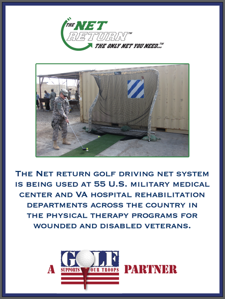 Golf Supports Our Troops - VA Hospitals