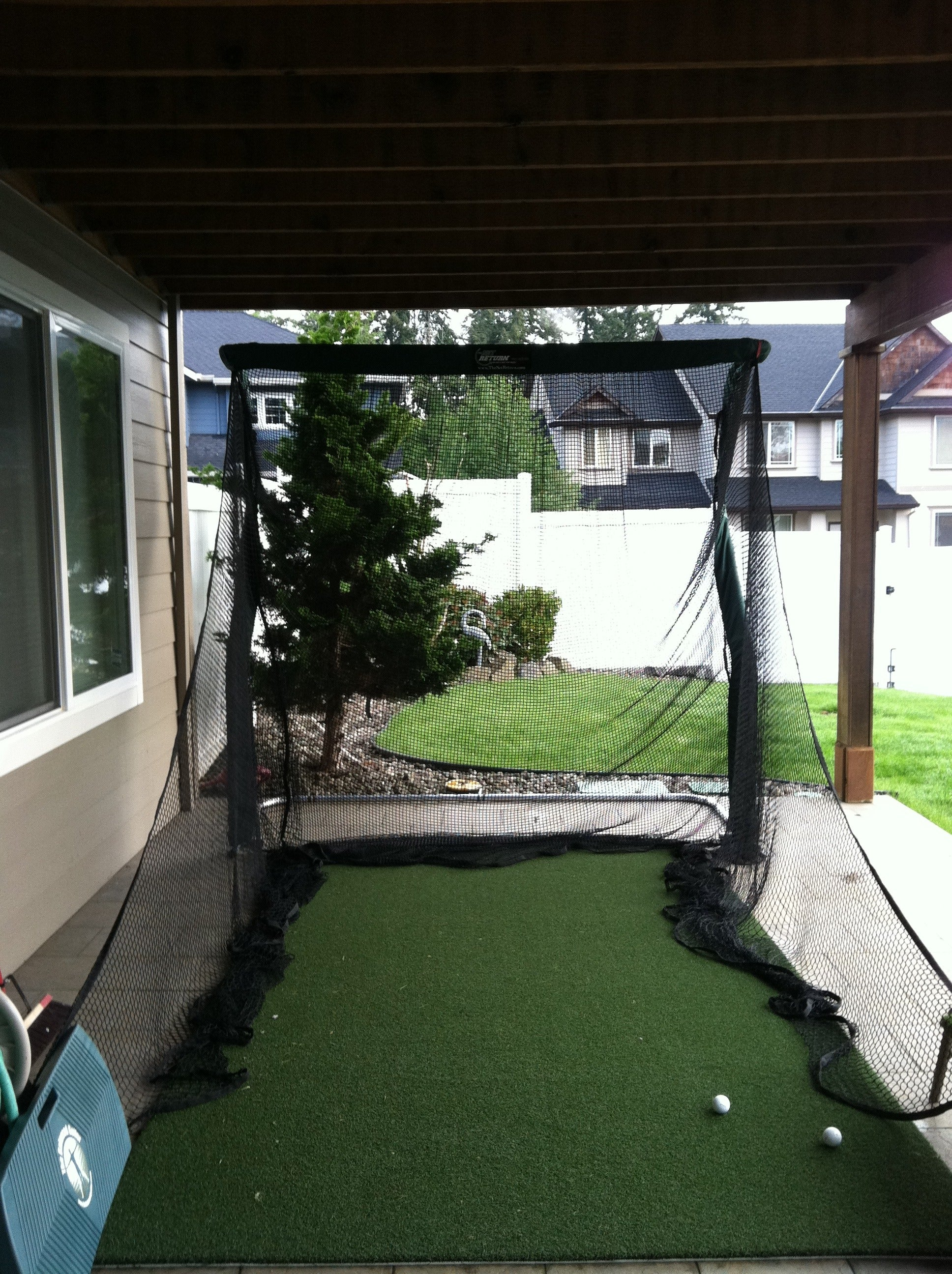 John Nguyen Patio Pro Package Golf Net