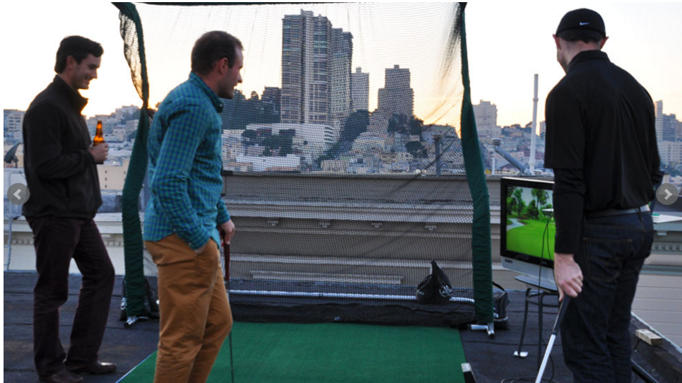 Office Golf Rooftop 4