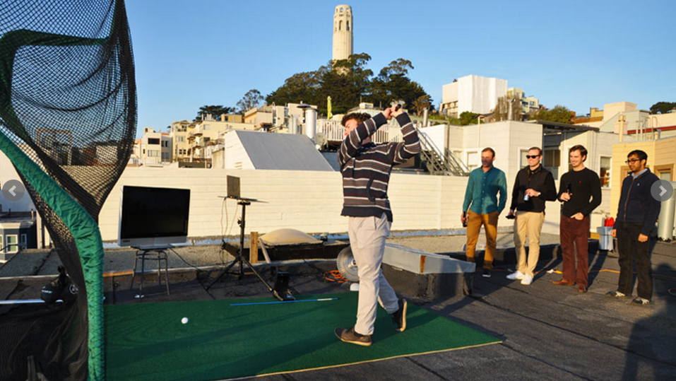 Office Golf Rooftop 5