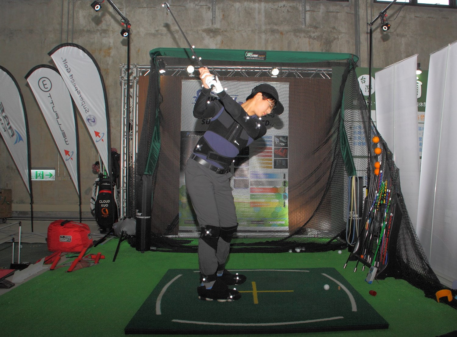 Golf Taiwan Trade Show with The Net Return Pro Series