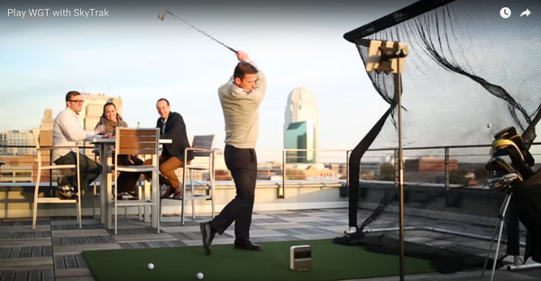 SkyTrak Golf Rooftop 2