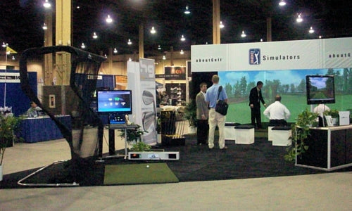 About Golf Simulator Booth 2009 PGA Show