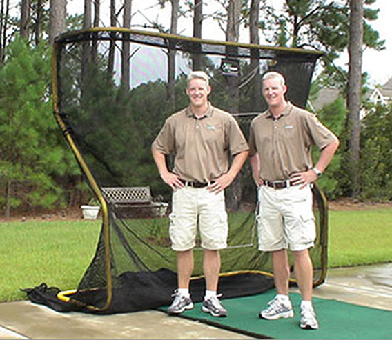 Golf Net Prototype - Paul and Matt Crawley