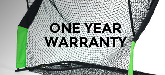 One year warranty golf net