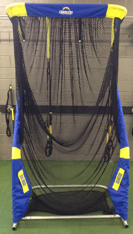 San Diego Chargers Front View Kicking Net