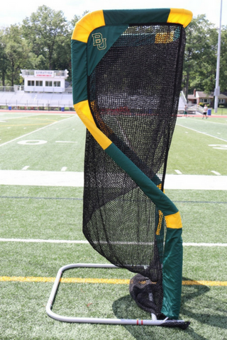 Baylor University Custom Football Kicking Net SideView