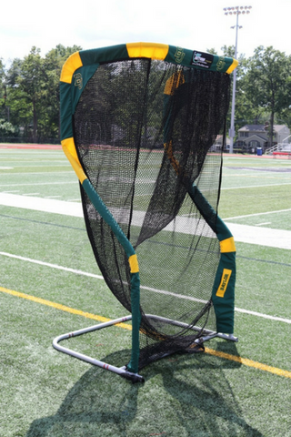 Baylor University Custom Football Kicking Net Angled View