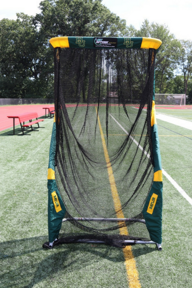 Baylor University Custom Football Kicking Net Front View
