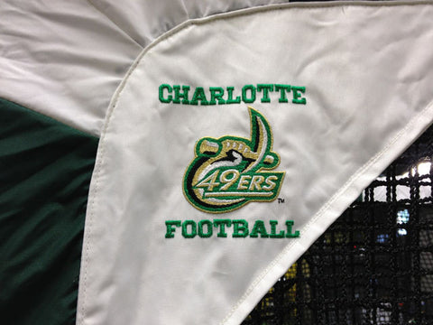 Charlotte 49ers Logo Close Up