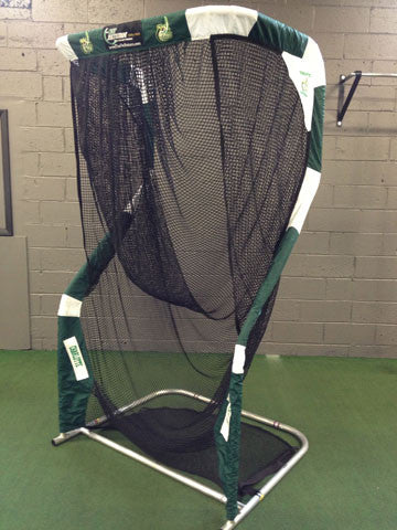 Charlotte 49ers Angled Side View of Kicking Net