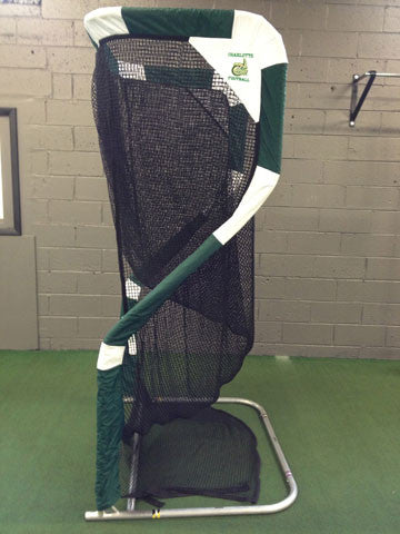 Charlotte 49ers Football Kicking Net Side View