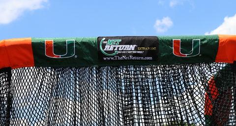 University of Miami Custom Kicking Net