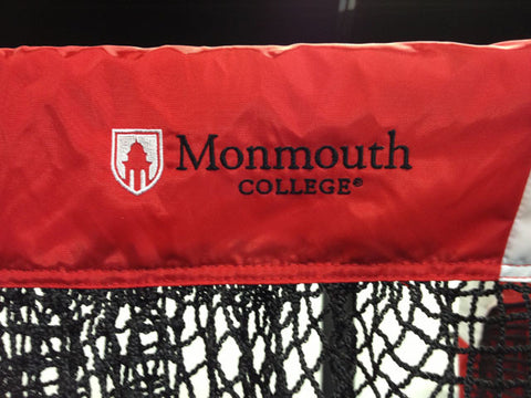 Monmouth College Football Net Upper Logo