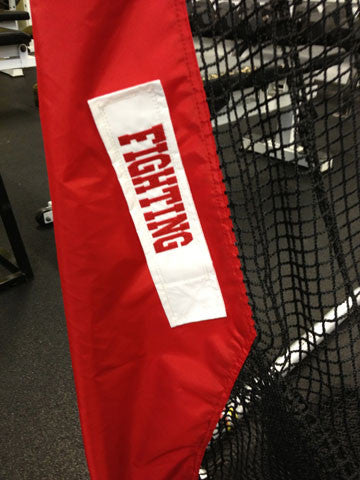Lower Leg of Monmouth College Football Net