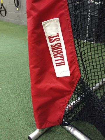 Lower Leg of Illinois State Football Kicking Net