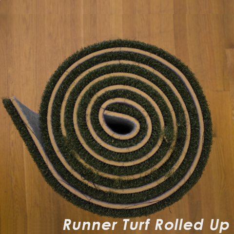 Rolled Up Runner Turf