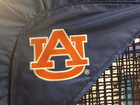 Auburn Tigers Side View Logo of Kicking Net