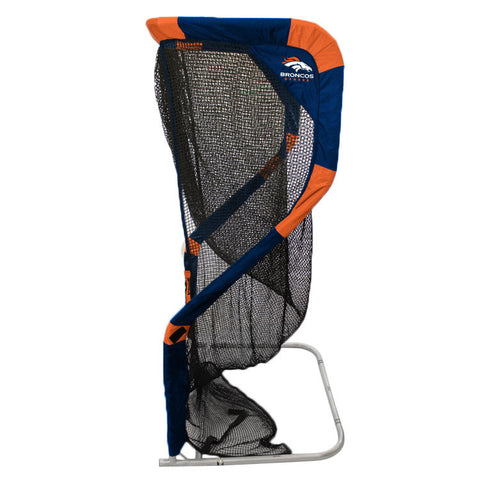 Denver Broncos Side View of Kicking Net