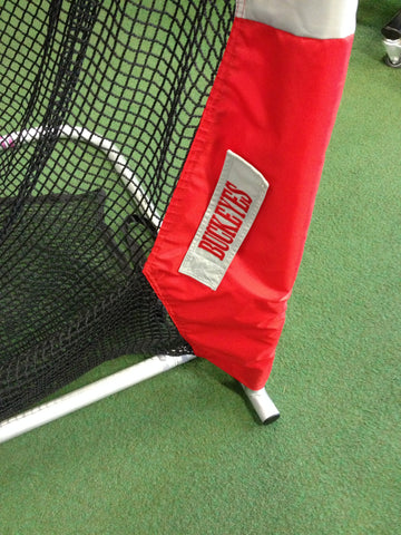 Ohio State University Lower Right Leg of Kicking Net
