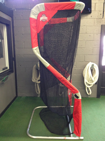Ohio State Football Kicking Net Side View