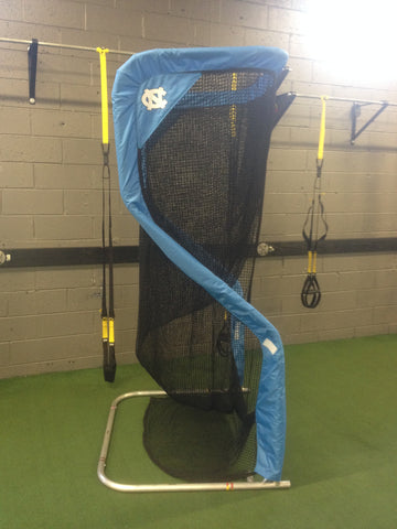 University of North Carolina Side View of Kicking Net