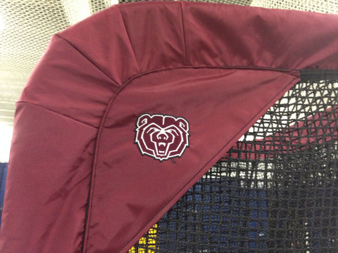 Missouri Bears Kicking Net Logo Sideview