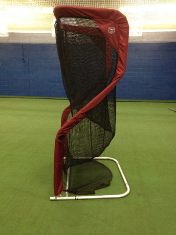 Side View of Missouri State Football Kicking Net