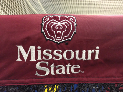Missouri State University Football Kicking Net Logo Front View