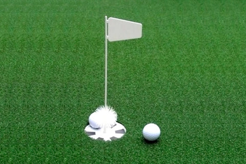 Putting Cup and Flag