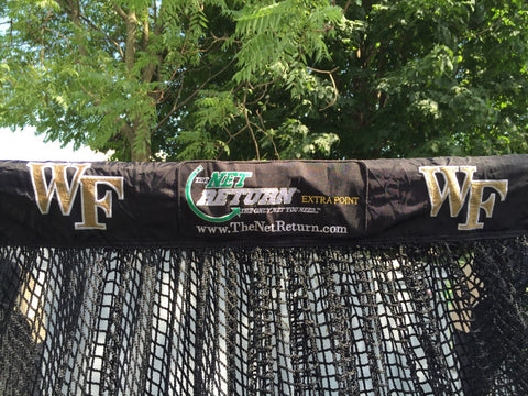 Wake Forest Kicking Net Front Upper