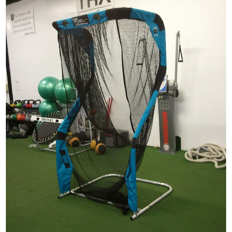 Angled View of Jacksonville Jaguars Kicking Net