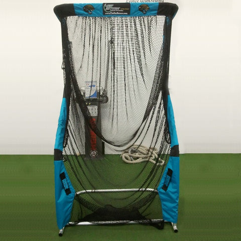 Front View of Jaguars Kicking Net