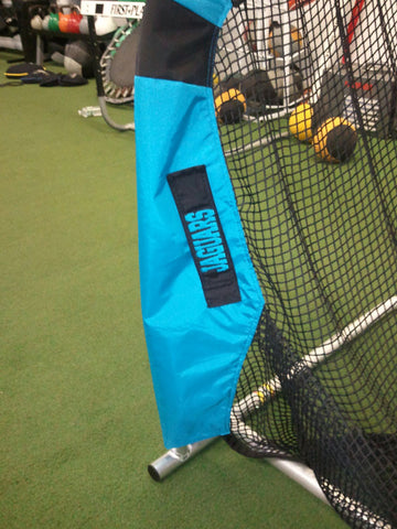 Lower Leg Embroidery of Jacksonville Jaguars Kicking Net