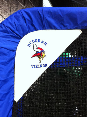 Decorah Vikings Football Net Embroidered Logo